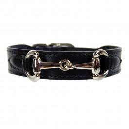 Halsband Gucci Style nickel schwarz