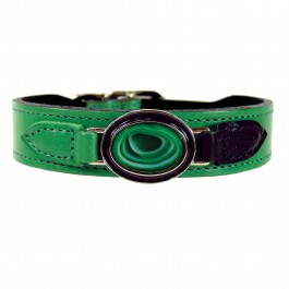 Halsband Kaleidoscope grassgrün