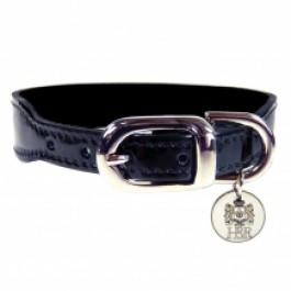 Halsband Italian Nickel schwarz