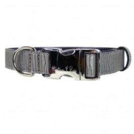 Halsband Contemporary rauchgrau