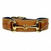 Halsband Gucci Style gold hellbraun