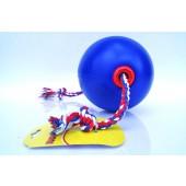 Tuggo Ball - das Stabile Hundespielzeug für Ihren Hund - zum werfen, schleudern, zerren und selbstbeschäftigen