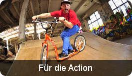 Tretroller für Action